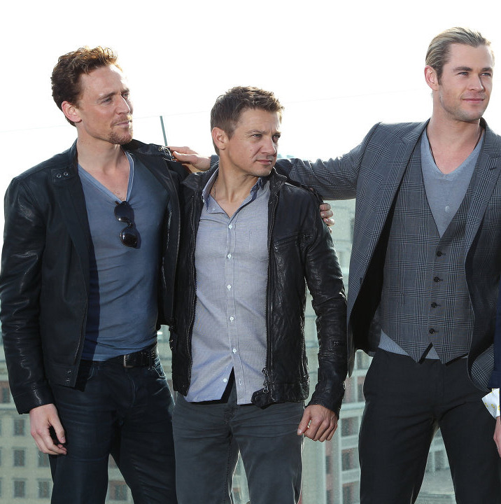 team-hiddleston:  Avengers in Moscow