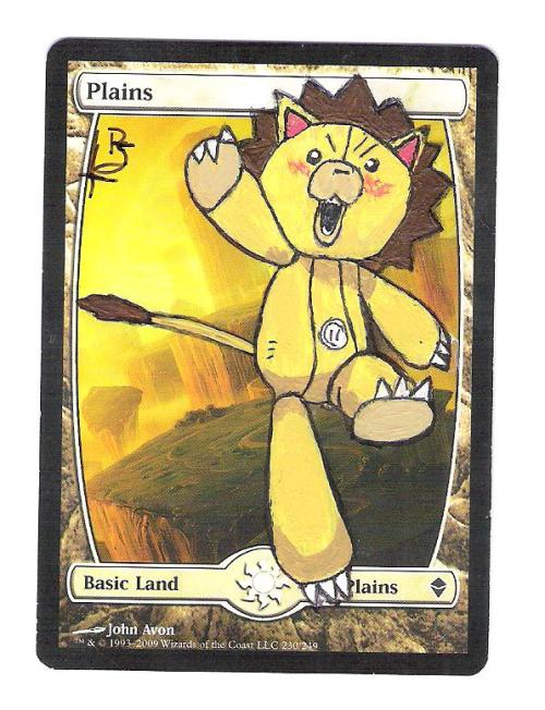 tom-and-the-operators:  This one was actually my first alter, it was fun and to this day I think one of my best.