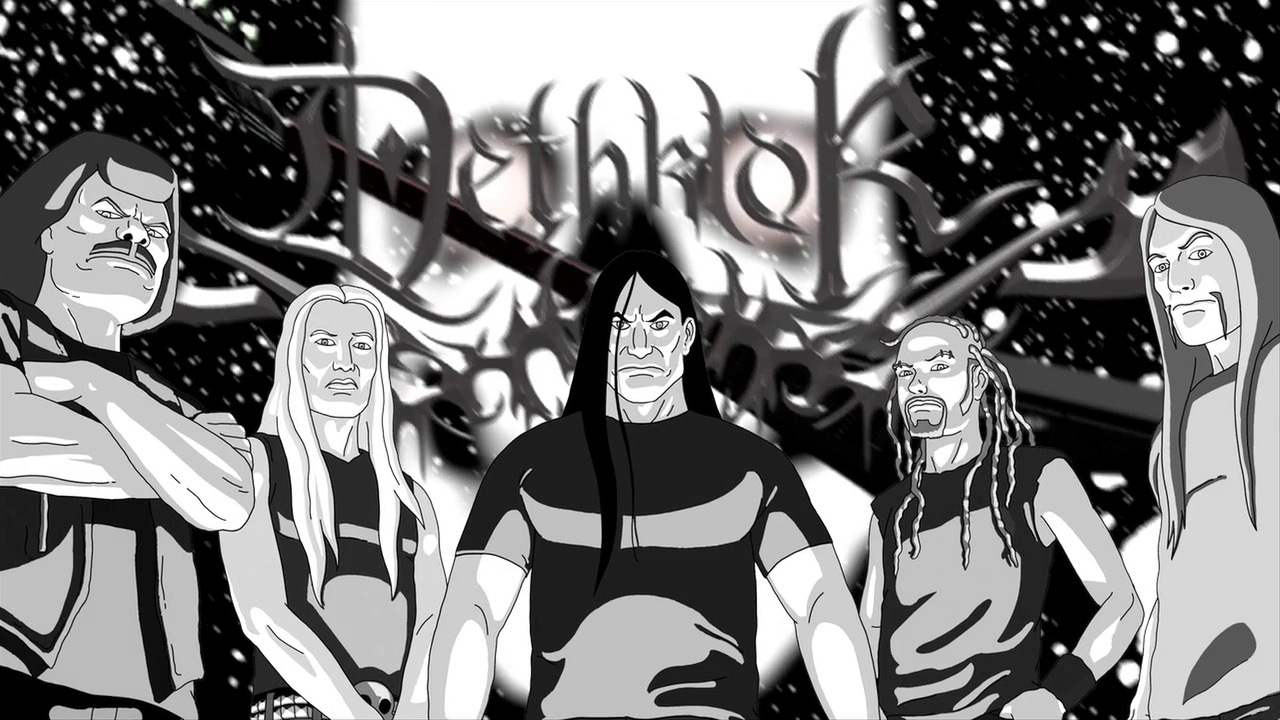 "early-lavender:  ""METALOCALYZE YOUR DASHBOARD"" MASTERPOST  NATHAN Explosion [x]  PICKLES the Drummer [x]  SKWISGAAR Skwigelf [x]  TOKI Wartooth [x]  WILLIAM Murderface [x]  CHARLES F. Ofdensen [x]  SETH, head of Dethklok Australia [x]  And how, pray tell, do these things work?  How do we get them on our dash?"