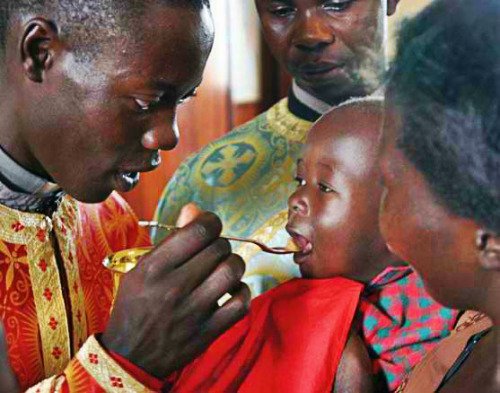 "Orthodox Christianity is not new to Africa. According to tradition, the Evangelist Mark arrived on the continent around A.D. 43, and founded the Church of Alexandria and, by extension, all Africa. But ""all Africa,"" for most of the church's history, effectively ended at the Sahara. Orthodox missionaries sat out the 19th century's ""scramble for Africa,"" when European Catholics and Protestants fanned out across the continent to save souls and build colonies. The story of how the Alexandrian Church came to have an affiliate in faraway Uganda, a country with no previous connection to the Orthodox world, is therefore not a tale of white men bearing the message of God to a dark continent. Rather, the Ugandan church traces its roots to two Africans who, rebelling against colonial rule, fled to a religion they felt was pure and politically uncompromised. This makes Uganda's small community of 60,000 Orthodox Christians nearly unique within their home country. They found their faith on their own. May God bless our Orthodox brothers and sisters in Africa!"