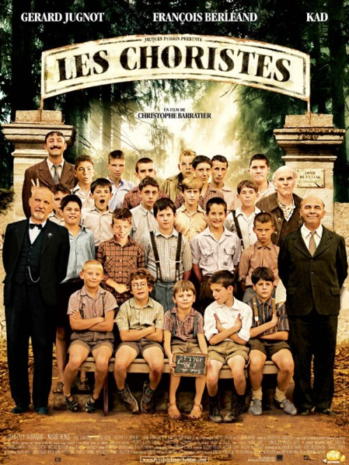 Les choristes, or the The Choir, is a beautiful, got-to-watch french film.Get your romantic other and have a film night 'en Francais'.