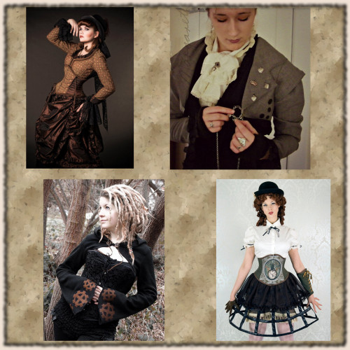 totusmel:  Steampunk fashion finds on the Wunderkammer