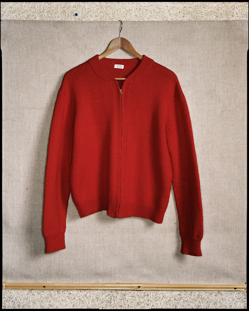Fred Rogers's Sweater, Pittsburgh, 1998 (photo: Dan Winters) Photographer Dan Winters' retrospective show, 'America: Icons and Ingenuity', opens Sept. 14 at the Jepson Center in Savannah, Ga. Nick Offerman wrote for LightBox about Winters' extraordinary passion and dedication to his interests. See more photos and read the story here.