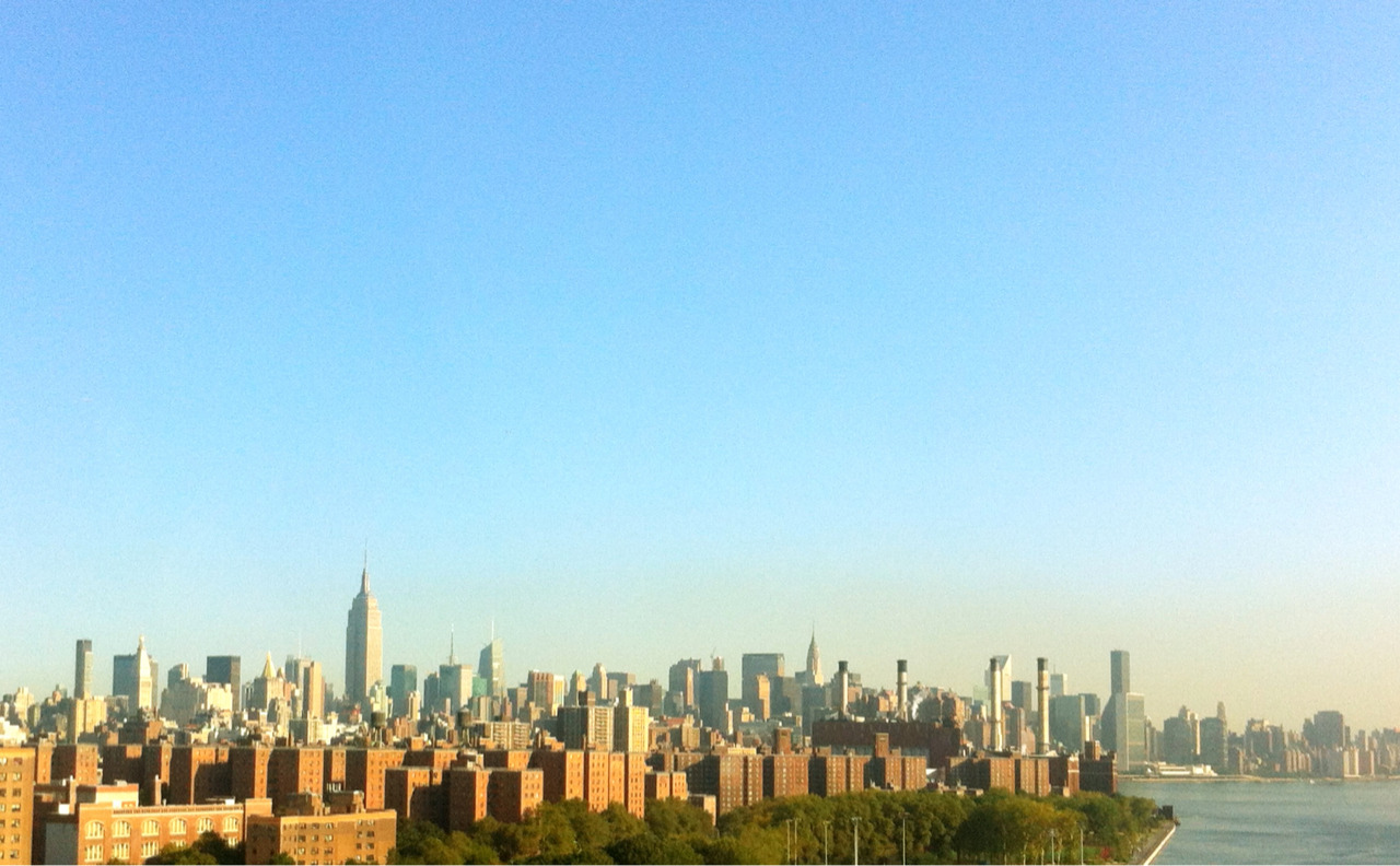 Good Morning NYC, weekend is near.. it's gonna be a good day.