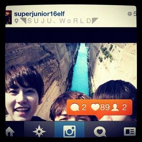 #thank you For Like With #kyuhyun  face hahaha😂😂😂 (Taken with Instagram)