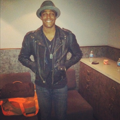 Photo: @AustinBrown chilling at @MTV yesterday in New York!