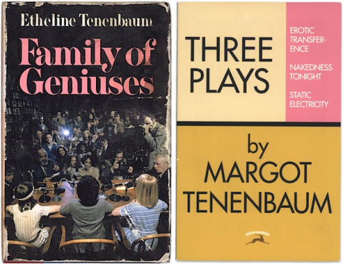 Book Covers, The Royal Tenenbaums, 2001