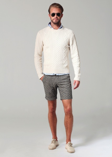 Ovadia & Sons - SS13. That knit cray.