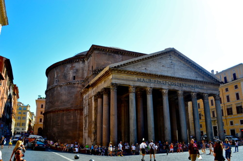 The Pantheon. Rome, Italy. August, 2012.