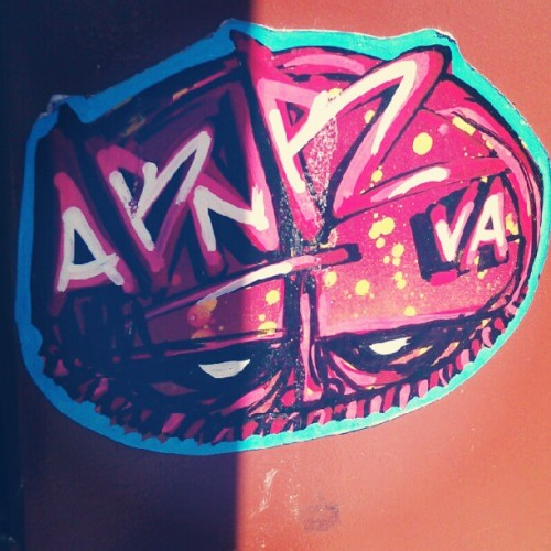 Homies #abnr has the sickest hand drawns. #Portland #stickerart #stickerslap #tagging #tags #Graff #graffitisticker #graffiti #portlandstreetart #portlandgraffiti #vacrew #visualassault  (Taken with Instagram)