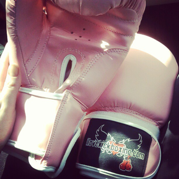 #kickboxing #boxinggloves #workout #exercise  (Taken with Instagram)