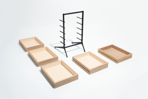Simply. Disassembled. intheleftfield:  keiji ashizawa: bon drawer #furniture #design #interiordesign