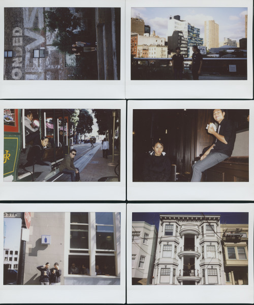 krusen with the chens 4 // ny highline - sf around town // fuji instax wide walking the highline in ny - sitting on that cable car - finishing a wedding - blue bottle coffee tasting - sexy man sexy house