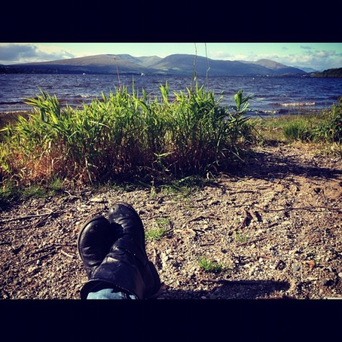 Bonnie, bonnie banks #2 :) (Taken with Instagram)
