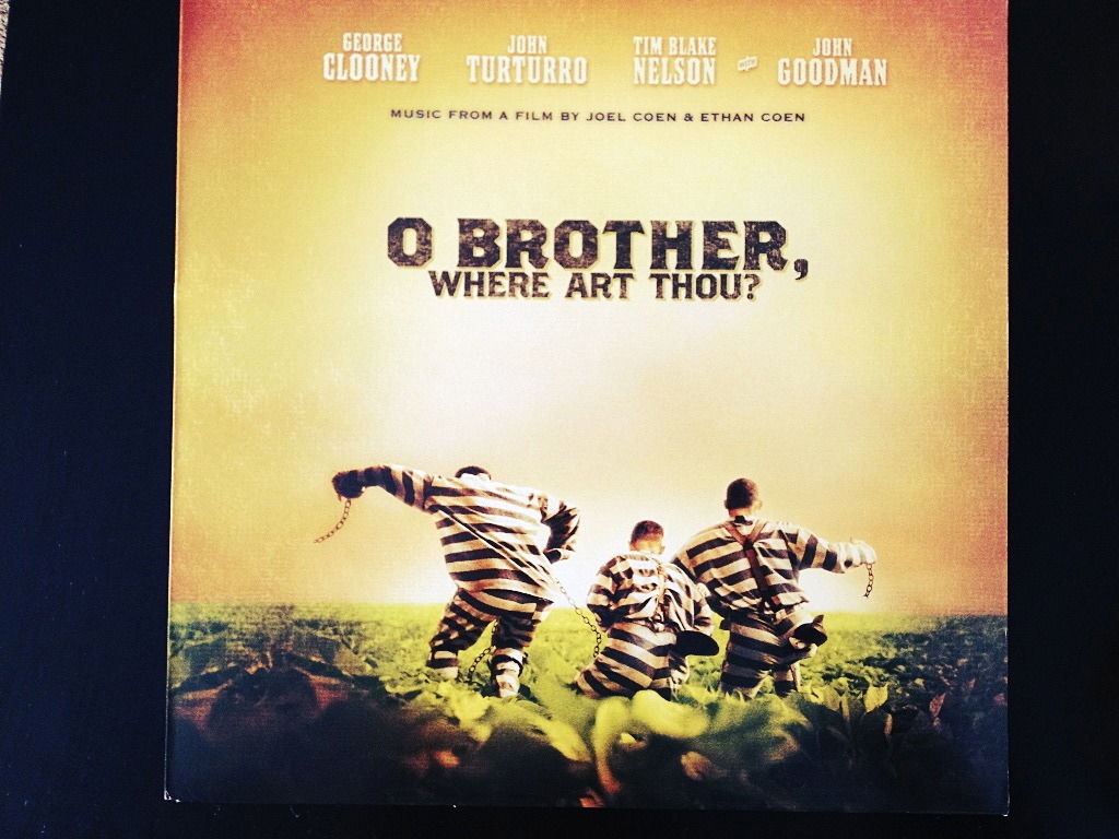 1recordaday:  VA - O Brother, Where Art Thou? OST (Clear 2xLP /1000?) This was the soundtrack that made Bluegrass/gospel music readily available to folks who had never really experienced it.  My aunt always took me to to blues/folk/bluegrass festivals when I was younger, and one pickle fest…But thats another story.  Spinning this will always remind me of time spent with her and our crazy adventures. There is something about this genre that just REALLY makes me feel something. Not being a religious man, I cant really relate to it lyrically, however, The passion that is obviously put in to these songs is something to be admired. The 2 LP's themselves aren't that great as far as surface noise goes, but with a soundtrack like this, it sort of ads to the authentic bluegrass feel. Both LP's are housed in a single jacket with a full color insert, which is something you wouldnt expect from a big movie soundtrack like this.  I highly recommend this soundtrack to anyone who is willing to explore their musical horizons.