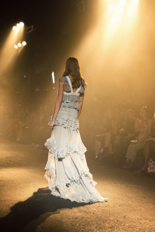 fromme-toyou:  Romantic at Prabal Gurung