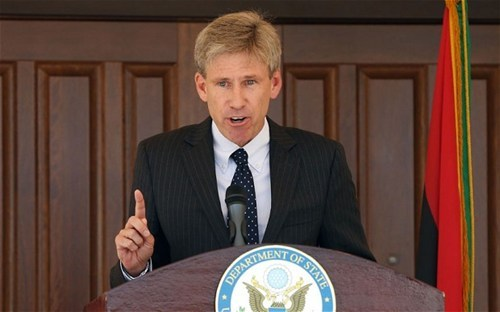 "thedailywhat:  RIP: Chris Stevens, at 52: U.S. Ambassador to Libya Chris Stevens was killed late Tuesday — September 11 — along with three other embassy staff after armed militants stormed the U.S. consulate in Benghazi in retaliation for a California businessman's low-budget anti-Muslim film, Innocence of Muslims, that attacks Islam's prophet Muhammad. President Obama condemned the attacks, which also occurred at the U.S. Embassy in Cairo, and said that they will ""not break the bonds"" between the U.S. and Libya: We will not waiver in our commitment to see that justice is done for this terrible act. And make no mistake, justice will be done. There was no threat of military action or economic sanctions — the U.S. considers Libya a friendly state.Stevens, who was 52, served as envoy to the Libyan rebels in 2011 when NATO aircraft helped rebels overthrow the 40-year-old regime and eventually capture and kill Gaddafi. In a video introduction released by the State Department shortly after he was appointed ambassador in May, Stevens said he ""was thrilled to watch the Libyan people stand up and demand their rights."" [telegraph]  RIP Chris Stevens. Illustrious UC Berkeley alum. Doing what Berkeley alums have done for years, trying to make a difference in the world. You will be missed."