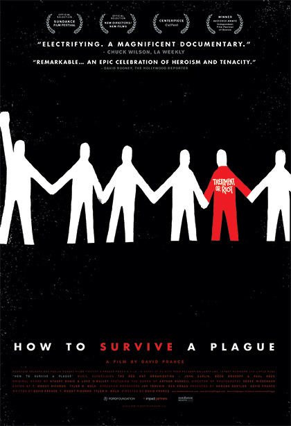 samsmithdesign:  HOW TO SURVIVE A PLAGUE theatrical poster