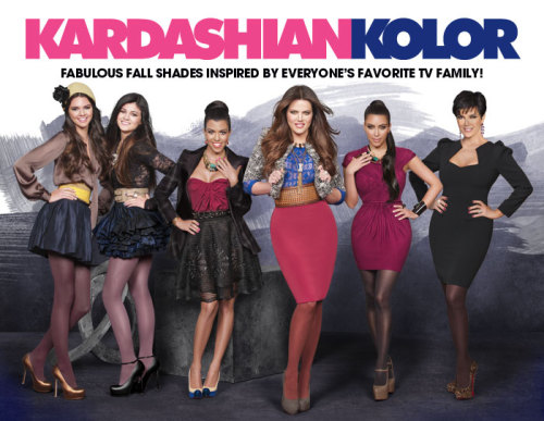 The new Kardashian Kolor Fall Advertisement with Kim, Khloe, Kendall, Kourtney, Kylie and Kris/