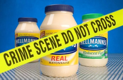 fuckyeahcondiments:  Staten Island teen with mayonnaise jar full of marijuana finds he cannot outrun a horse  WHAT?