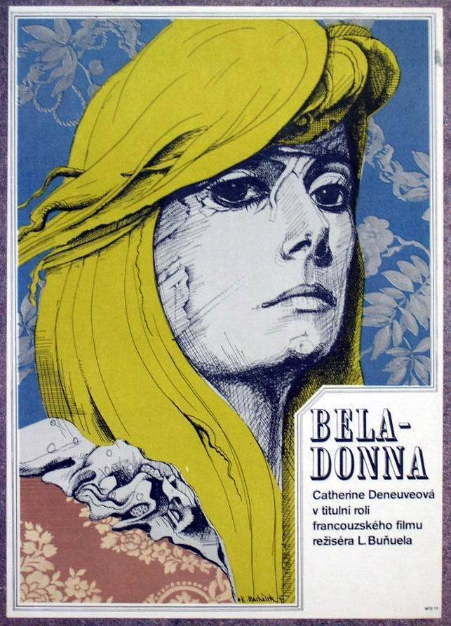 moviepostersold:  Polish poster for Belle de jour (Luis Buñuel, 1967)