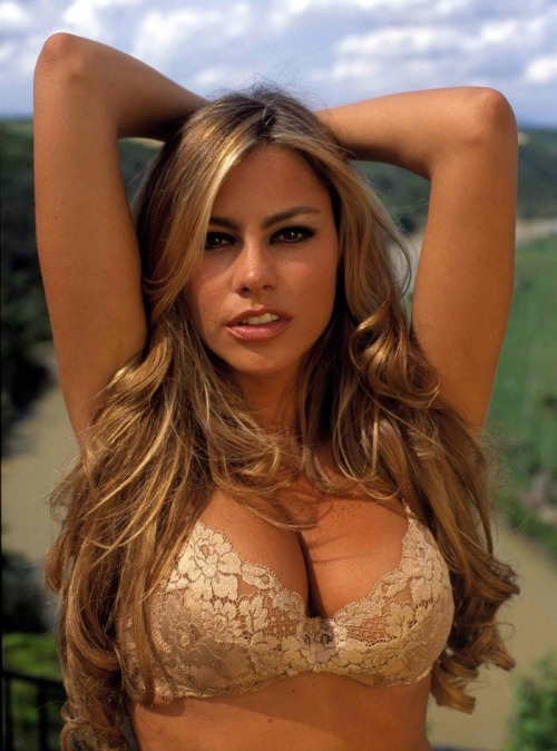 I would like a piece of Sofia Vergara pie. Right. Now.