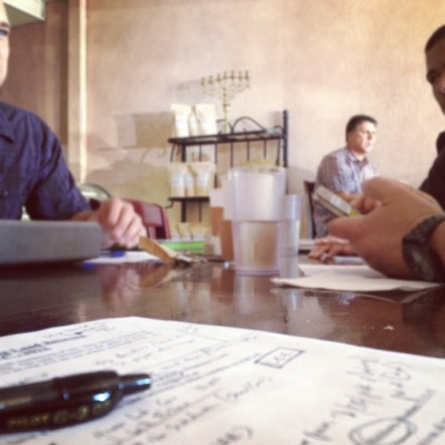 Creative Arts Meeting. @thecrossingst (Taken with Instagram at Nordaggio's Coffee)