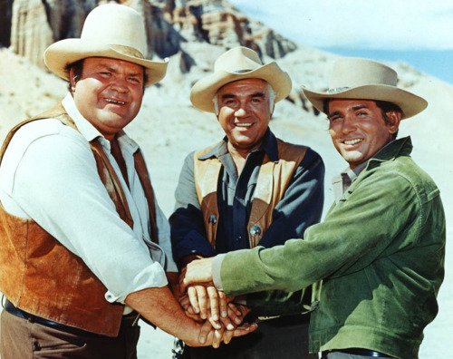 September 12, 1959: Bonanza Premieres On this day in 1959, the western television series Bonanza premiered on NBC. Bonanza was the first regularly scheduled television program presented in color. The show ran for 14 seasons and ranks as the second longest running western series in history.  In 2002, Bonanza was ranked No. 43 on TV Guide's 50 Greatest Shows of All Time. Bonanza is especially remembered for addressing racism, a topic largely ignored on American television at the time. From the early 1940s into the 1970s, during the Golden Age of Television, western series were produced for television with great success. Check out this Pioneers of Television list of well-known and well-loved western series.