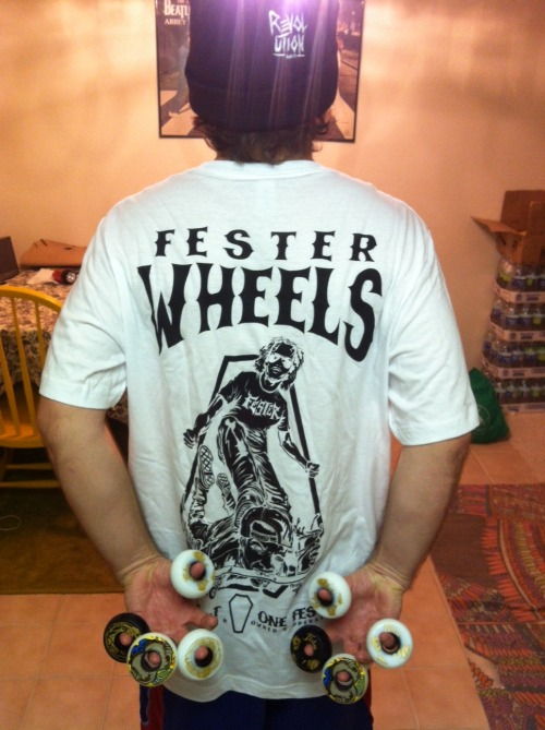 FESTER AM CASEY MCFARLAND - NEW FESTER WHEELS FALL LINE 2012 - www.festerwheels.com