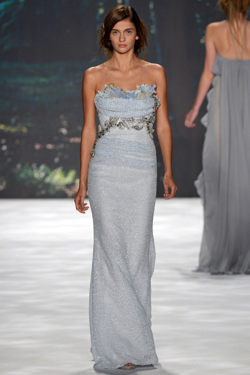 nextmanagement:  Ella Kandyba for Marchesa Spring 2013