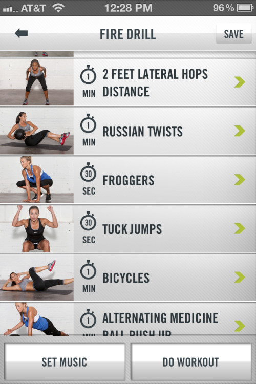 I'm really enjoying circuit workouts instead of straight cardio right now.