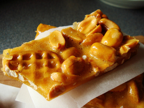 Pretzel Peanut Brittle by ComeUndone on Flickr.