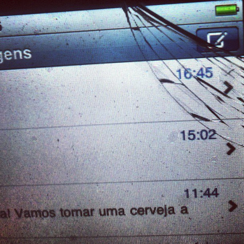 Iphone quebrado