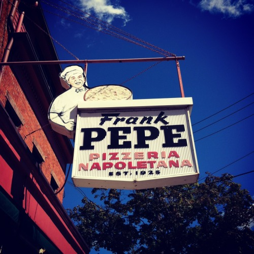 Frank Pepe Pizzeria Napoletana, Est. 1925 New Haven, Conn.