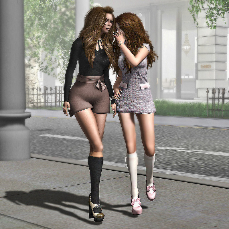 "Check out the Second Life Pic of the Day, ""Girlfriends"", photo by Strawberry Singh. http://bit.ly/RS4V2s"