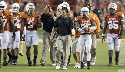 All Longhorn assistant coaches receive salary bumps Mack Brown's assistant football coaches at Texas are receiving a total of about $300,000 in extra salary from their 2011 salaries, according to figures received today by the American-Statesman from the university. Photo: Ricardo Brazziell/American-Statesman