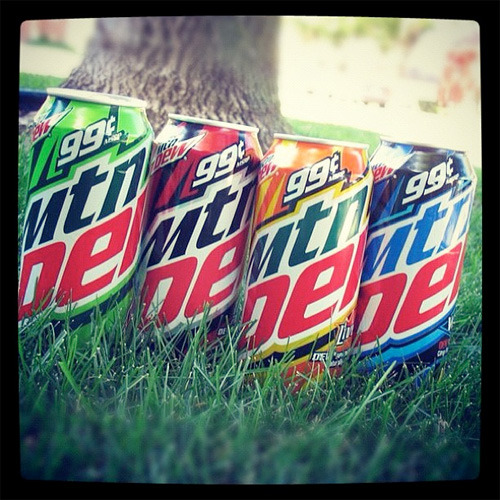 Our friends at BevReview have spotted the new 16 oz. cans of Mountain Dew, Code Red, Live Wire, and Voltage! Have you seen them?