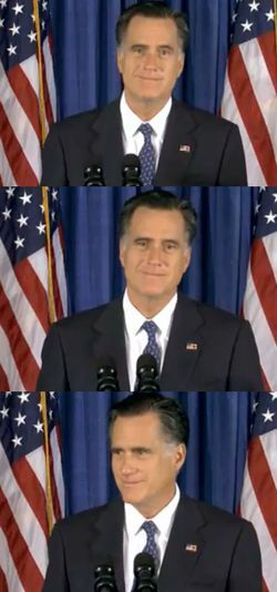 "theatlantic:  Mitt Romney's Libya Criticism Backfires  Mitt Romney's attack on President Obama for the ""disgraceful"" decision to ""sympathize"" with the murderers — and his decision to stick with the political attack in a press conference Wednesday — ""is likely to be seen as one of the most craven and ill-advised tactical moves in this entire campaign,"" Time's Mark Halperin says. The ""campaign faces a near consensus in Republican foreign policy circles that, whatever the sentiment, Romney faltered badly,"" BuzzFeed's Ben Smith writes. ""I've been inundated with emails and calls from elected GOP leaders who think Romney's response was a mistake. Not today,"" MSNBC's Joe Scarborough tweeted. Peggy Noonan said on Fox, ""I don't feel that Mr. Romney has been doing himself any favors, say in the past few hours, perhaps since last night… Sometimes when really bad things happen, when hot things happen, cool words or no words is the way to go."" Former George W. Bush pollster Matthew Dowd tweeted, ""Romney react feels a lot like ready, fire, aim.""  Read more.  What a smug bastard"