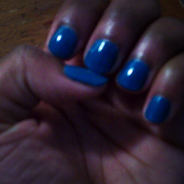 New nail color (Taken with Instagram)
