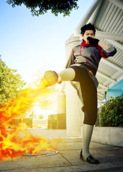 avatar-cosplay:  LoK: Don't Play with Fire… by *red-cluster