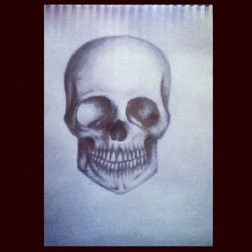 Did this a few months ago, aw it upsets me that I dont draw anymore (Taken with Instagram)