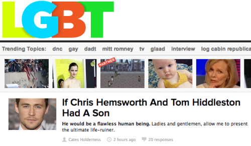 "Buzzfeed is certainly changing the definition of ""LGBT"" by yanking Conan O'Brien's ""If They Mated."" Good work, everyone!"