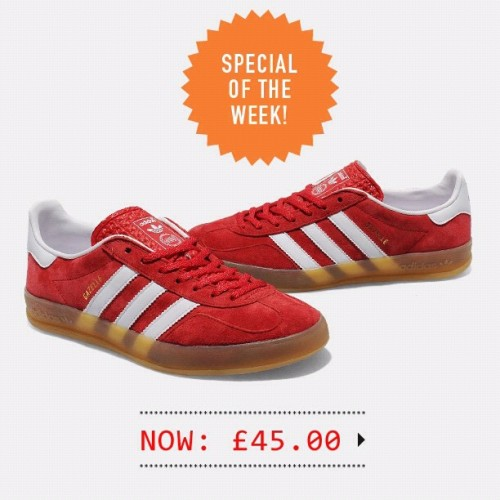 The adidas Originals Gazelle Indoor is now £45.. (Taken with Instagram)