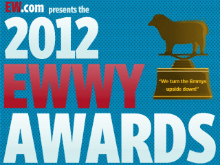 It's your last chance to vote in our 5th Annual EWwy Awards, which honor actors and shows snubbed by the Emmys. Who will take home a coveted sheep-shaped trophy? Here, once more, are your nominees: BEST DRAMAFringeThe Good WifeJustifiedRevengeSons of Anarchy  BEST ACTOR, DRAMADustin Hoffman, LuckCharlie Hunnam, Sons of AnarchyHugh Laurie, HouseAndrew Lincoln, The Walking DeadTimothy Olyphant, Justified BEST ACTRESS, DRAMA Nina Dobrev, The Vampire DiariesKatey Sagal, Sons of AnarchyMadeleine Stowe, RevengeAnna Torv, FringeKerry Washington, Scandal  BEST SUPPORTING ACTOR, DRAMAWalton Goggins, JustifiedJoel Kinnaman, The KillingJohn Noble, FringeMichael Pitt, Boardwalk EmpireJohn Slattery, Mad Men  BEST SUPPORTING ACTRESS, DRAMA Kristen Bauer van Straten, True BloodErika Christensen, ParenthoodLena Headey, Game of ThronesKelly Macdonald, Boardwalk EmpireMaggie Siff, Sons of Anarchy BEST COMEDYCommunityHappy EndingsHow I Met Your MotherLouieParks and Recreation BEST ACTOR, COMEDYWill Arnett, Up All NightJohnny Galecki, The Big Bang TheoryRob Lowe, Parks and RecreationJoel McHale, CommunityAdam Scott, Parks and Recreation BEST ACTRESS, COMEDYCourteney Cox, Cougar TownLaura Dern, EnlightenedPatricia Heaton, The MiddleLaura Linney, The Big CMartha Plimpton, Raising Hope BEST SUPPORTING ACTOR, COMEDYAziz Ansari, Parks and RecreationDonald Glover, CommunityNick Offerman, Parks and RecreationChris Pratt, Parks and RecreationDanny Pudi, Community  BEST SUPPORTING ACTRESS, COMEDYAlison Brie, CommunityGillian Jacobs, Community Zosia Mamet, Girls Eden Sher, The Middle Casey Wilson, Happy Endings Vote vote vote vote vote!