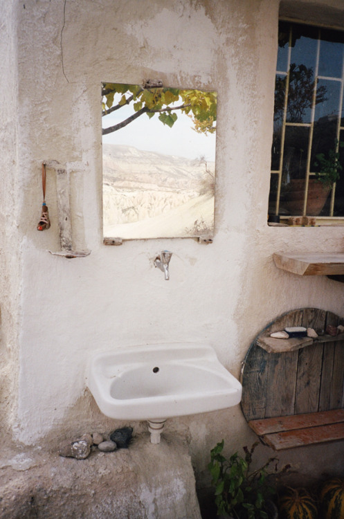 toddjordan: sink and mirror. cappadocia turkey. november 2010.
