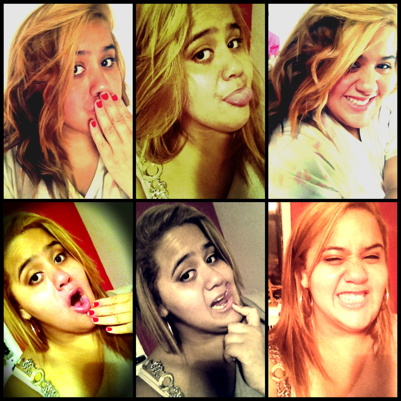Being silly :P No matter what just smile because God never puts you through something you can't handle ❤