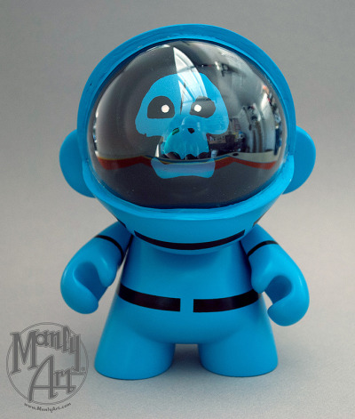 vyntic:  Space Kook Munny created by Jason Chalker