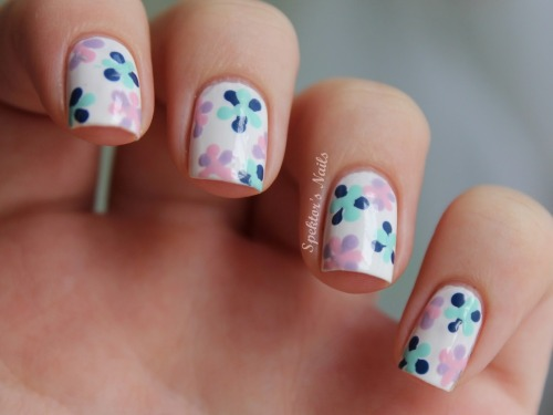 Dotted Flowers