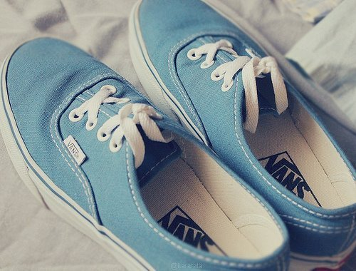 dontwasteopportunities:  Vans. on We Heart It. http://weheartit.com/entry/37154509