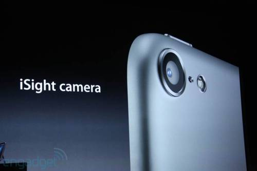 Camera Upgrades: The iPod Touch will also feature an upgraded camera, though not as powerful as the cameras found inside the iPhone 4S or iPhone 5. Fortunately, the new 5-megapixel iSight camera will include the same 5-element lens and crystal sapphire lens cover built into the new iPhone 5. Also, like the iPhone 5, the new iPod Touch's FaceTime HD camera will capture 720p video. (Photo via Engadget) source Check out our continuing iPhone 5 event coverage here